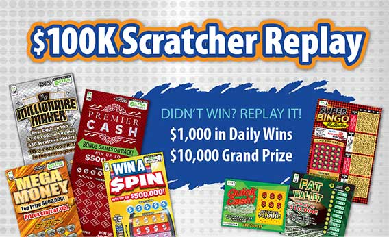 $100K Scratcher Replay promo image